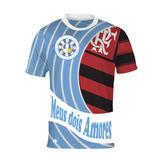 Camisa Meus Dois Amores - Vila Isabel E Flamengo
