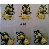 1 Cartela Adesivo De Unha Artesanal Frete 7,00