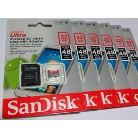Cartão De Memória Micro Sd Ultra 32gb Class 10 48mb/s