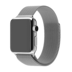 Pulseira Milanese Para Apple Watch Loop Magnético 38mm/42mm