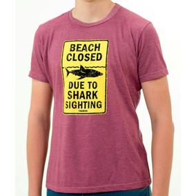 Remera The Panaholma Co Shark Slim Fit Morado