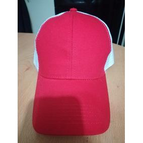 Gorra Pow Roja Con Blanca - Ropa 670c0899653