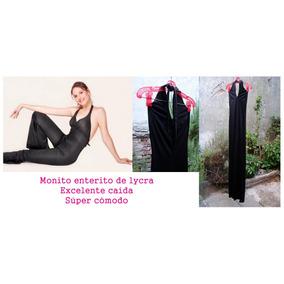 Enterito Monito Catsuit Lycra - Negro - Fiesta, Danza