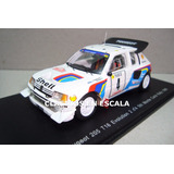 Peugeot 205 T16 1986 #4 Monte Carlo Rally - P Spark 1/43