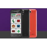 Smartphone Ms45s Sênior 3g Tela 4,5 Dual Câmera 5.0 Mp+3.0