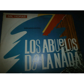Abuelos De La Nada Mil Horas Lp Raro Compilado Peru 1986