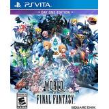 World Of Final Fantasy Nuevo Ps Vita Dakmor Canje/venta