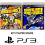 Borderlands 2 + The Pre Sequel - Midia Fisica Lacrado - Ps3