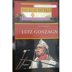 Lote 2 Livros Paradidáticos: Luiz Gonzaga E Nas Ruas Do Brás