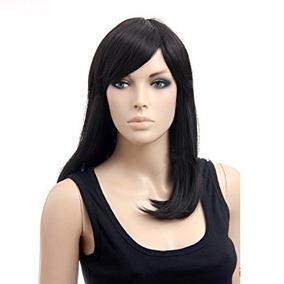 Disfraz Larga Negro Natural Straight Sexy Pelucas Para Muje