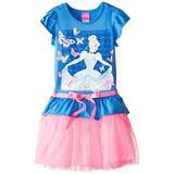 Bello Vestido Disney De Princesa Cenicienta Tallas 6