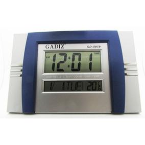 Reloj Digital Pared Escritorio Termomet Gadiz Numero Gigante