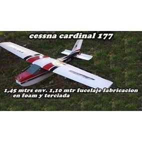 Kit Arf Entrenador Cessna Cardinal + Grande Que El Pegasus
