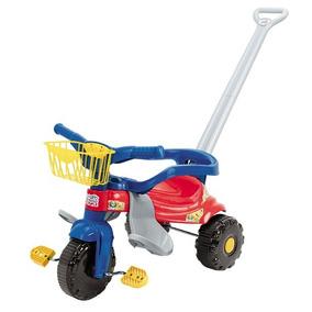 Triciclo Motoca Infantil Tico Tico Velotrol Magic Toys Ro/az