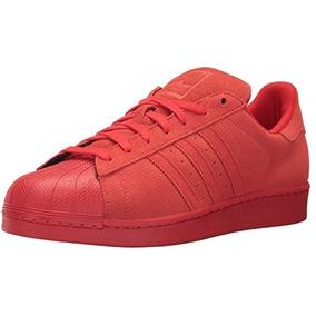 tenis adidas superstar rojos