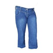 Pantalon Capri De Jean Vestir Mujer Corto