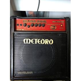 Amplificador Cubo Meteoro Demolidor Fwb 80 Rms Bass Caixa