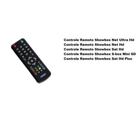 Controleshowbox Remoto S-box Mini Sd #philco Lg Samsung Aoc