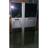Nevera Samsung 2 Puertas Con Espejo Hielo Y Agua Como Nueva