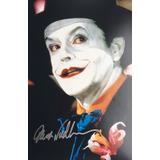 Autografo Jack Nicholson The Joker