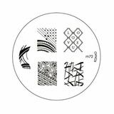 Placa Konad M72 Nail Stamping Art