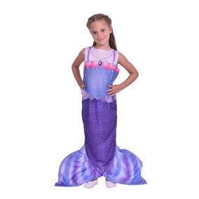 Disfraz Para Nenas Princesita Sofía Sirena New Toys Original