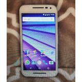 Celular Motorola Moto G3 Modelo Xt1554. Dual Chip, 4g, 16 G