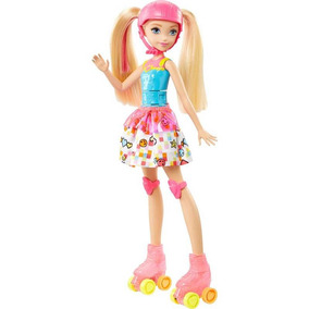 Barbie Patinadora De Vídeo Game - Mattel Dtw17