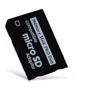 Adaptador Micro Sd A Stick Pro Duo Psp Nueva Local Publico