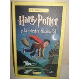 Harry Potter Y La Piedra Filosofal - Jk Rowling - Tapa Dura
