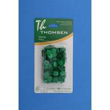 01 Tachas / Percevejo Colorido Thomsen Blister C/100un Verde