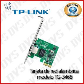 Tarjeta Red Pci Express Tp-link Tg-3468 Gigabit 32-bit