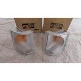 Par Lanterna Dianteira D20 93 96 Cristal Original Cibié