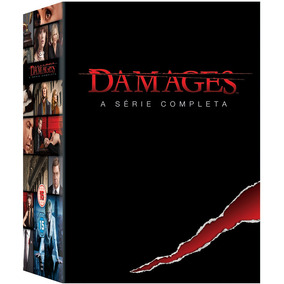 Damages Box 1ª À 5ª Temporadas Série Completa 15 Dvds Oferta