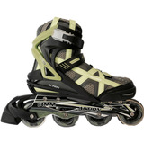 Rollers Ez Life Profesionales Patines In Line Metal Abec 7