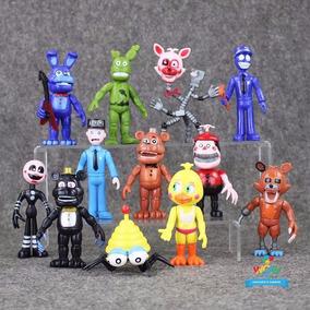 Kit 12 Miniaturas Five Night At Freddy
