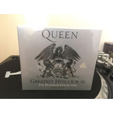 Cd Box Queen Greatest Hits 1, 2 E 3 (2011 Remaster Import)
