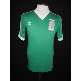 Selección Mexicana adidas Local 1984 - 85 Quirarte #3 México
