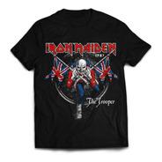 Camiseta Iron Maiden The Trooper Rock Activity