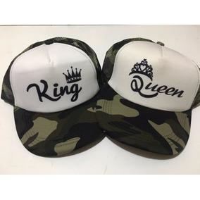 Gorras Trucker King Queen. Personalizadas