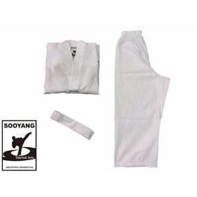 Uniformes Dobok Taekwondo Wtf Sooyang Talles 1 - 2 - 3