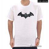 Camiseta Do Batman Emblema Personalizado - Diversos Modelos
