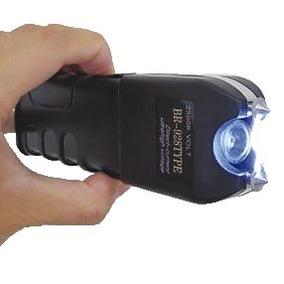 10 Arma Choque 18 Milhõe Volt Taser Lanterna Tatica Original