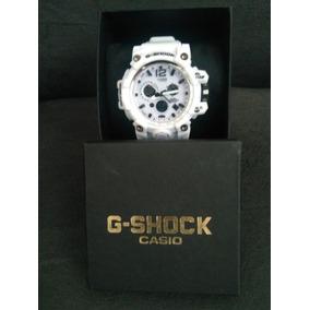 Relógio G-shock Analógico E Digital Branco Mudmaster