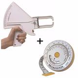 Adipometro Plicometro Slim Guide + Metro Bmi+ Envio