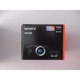 Cámara Sony Alpha Ilce A6300l 6300 24mpx + Lente 16-50mm 4k