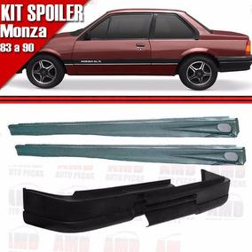 Kit Spoiler Monza 83 90 2 Portas Dianteiro S Furo + Lateral