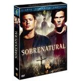 Sobrenatural - Temporada 4 - Dvd - O