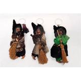 Llavero De Bruja Escoba Halloween Souvenirs (lp2891)
