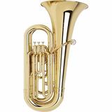 Tuba Bm 3/4 3 Pistos Laqueada Novo